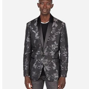 NWT Express Floral Suit Jacket